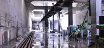 Metro na Targówek: Konstrukcje stacji gotowe, wykonawca zadowolony z tempa