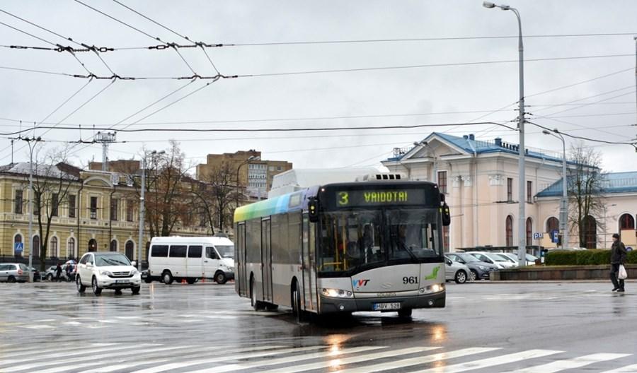 Wilno powiększy do 46 km sieć buspasów