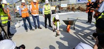 Kamień węgielny wmurowany na budowie metra na Wolę