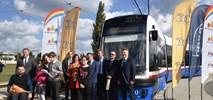 Pięćsetny tramwaj Pesy na rynku polskim wyjechał właśnie na tory w Bydgoszczy
