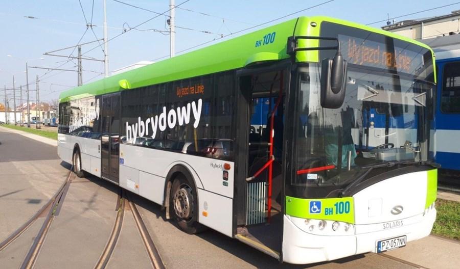 MPK w Krakowie testuje 13-metrową hybrydę