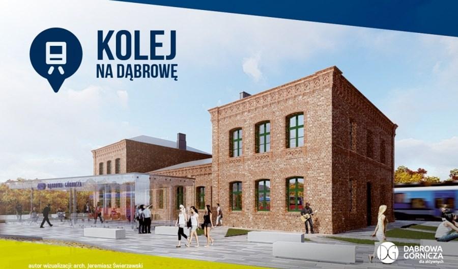 Dąbrowa Górnicza z ofertami na przebudowę głównej stacji