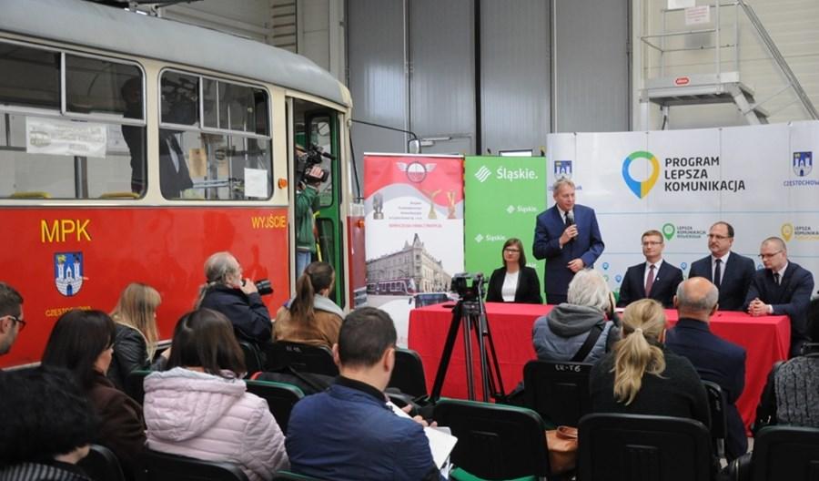 Już oficjalnie – MPK Częstochowa z dofinansowaniem na tramwaje