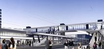 Jak mógłby wyglądać dworzec Olsztyn Główny z kładką na Zatorze [wizualizacje]