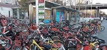 Góry rowerów, czyli skala chińskich rowerów publicznych