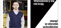 Warszawa. Motorniczy twarzą kampanii wspierającej cudzoziemców