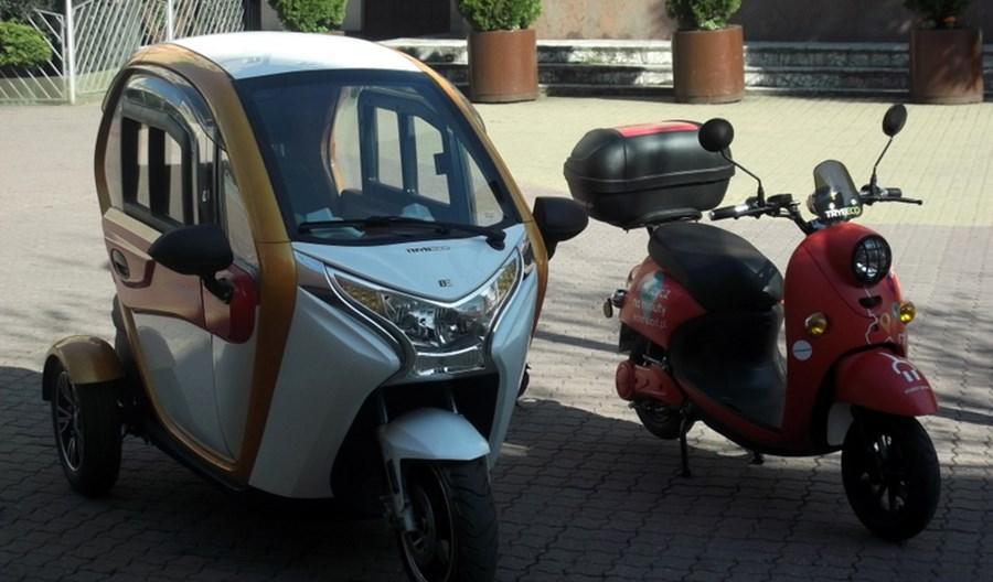 Łódź: Ruszyły elektryczne skutery. Mogą wjeżdżać na Piotrkowską