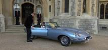 Harry i Meghan pojechali na wesele elektrycznym jaguarem [FILM]