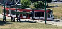 Poznań. Tramwaj w barwach pociągu