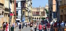 Aż 28% podróży w centrum Krakowa odbywa się pieszo