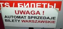 ZTM Warszawa: Biletomat na stacji Łódź Kaliska do przestawienia?