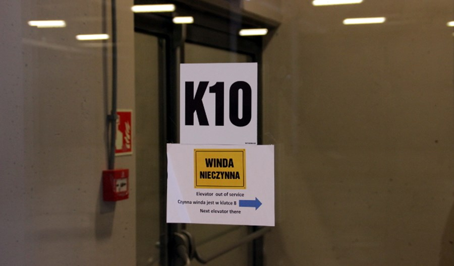 Łódź Fabryczna: Windy działają, ale czy przestojów da się uniknąć?