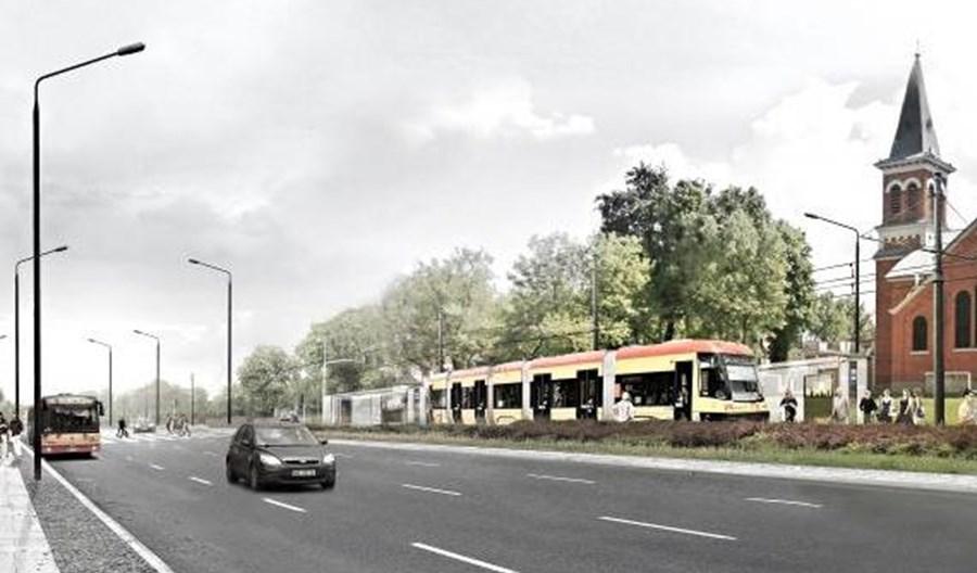 Warszawa z ofertami na projekt tramwaju na Kasprzaka