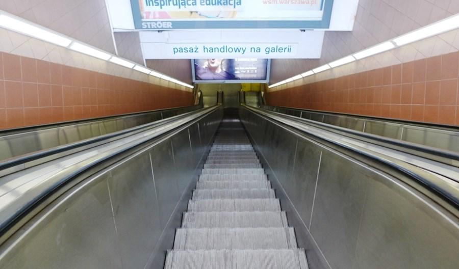 Metro zastanawia się, czy wymienić schody ruchome na stacji Centrum