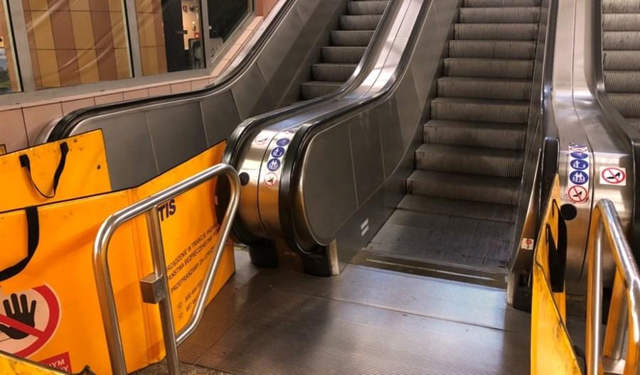 Metro: Kto będzie naprawiać windy i schody w 2019 r.?