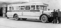 Jak kolej tworzyła połączenia autobusowe w niepodległej Polsce