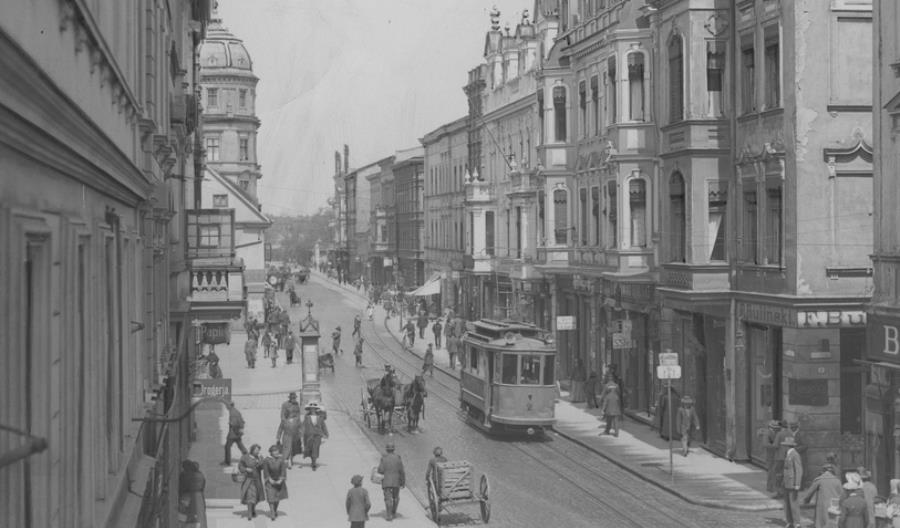 Przed wojną polskie miasta tramwajem stały