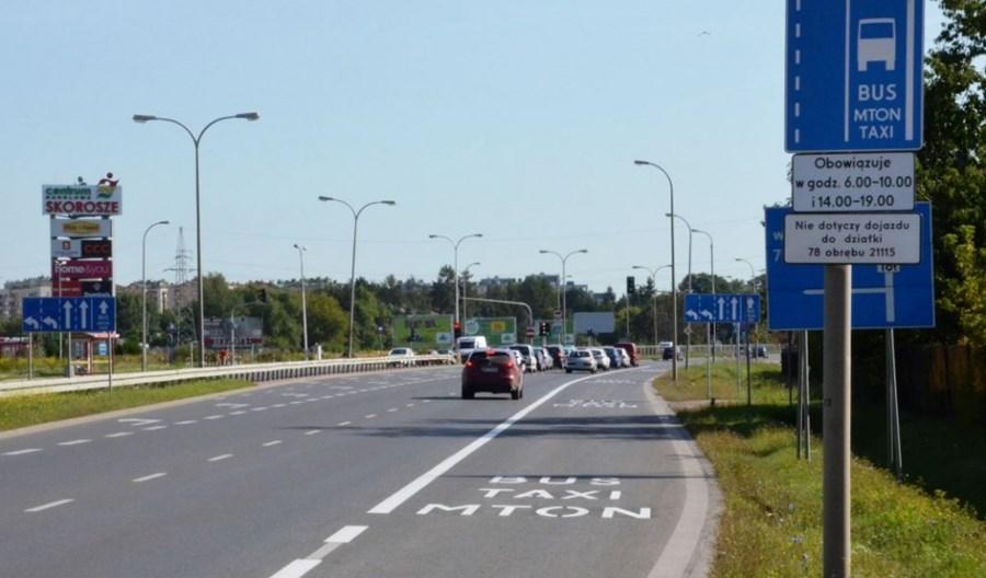 Warszawa: Buspas w Al. Jerozolimskich zostaje. Będzie autobus do Pruszkowa?
