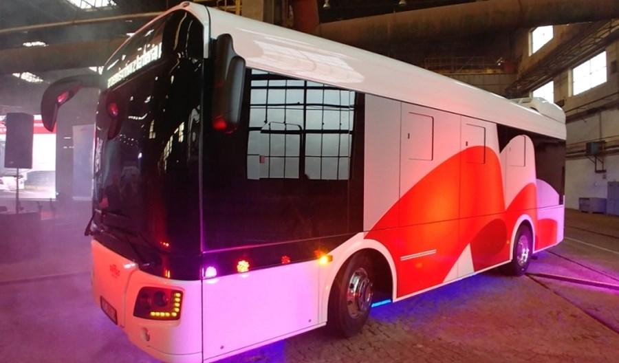 Rafako zaprezentowało własny elektrobus