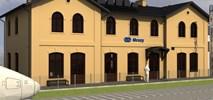 Kto wyremontuje dworzec w Mrozach (wizualizacje)