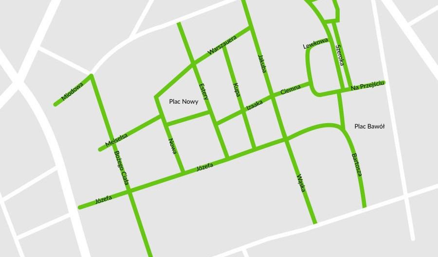 Kraków: Od 5 stycznia strefa czystego transportu na Kazimierzu