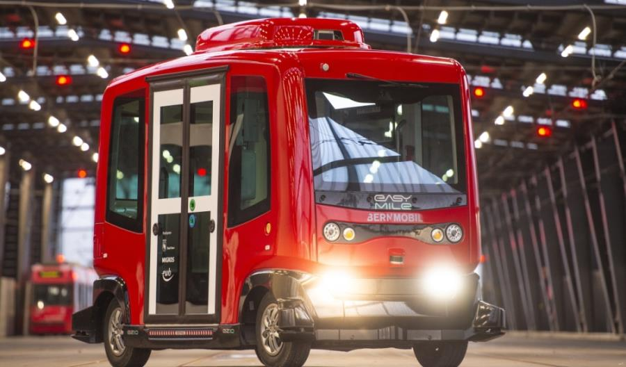 Berno przetestuje autonomiczny autobus