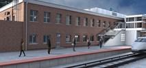 Dworzec w Tczewie z wykonawcą (wizualizacje)