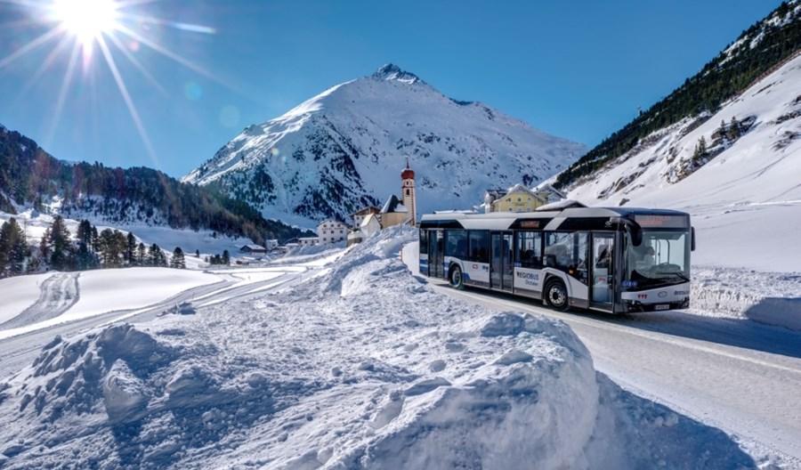 USA. Według badań autobus elektryczny traci w zimie nawet 1/3 zasięgu