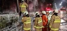 Dżakarta. Autobus BRT spłonął. Wycofano z ruchu 60 innych