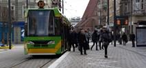 Poznań: Św. Marcin po przebudowie z nowym przystankiem tramwajowym