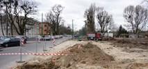 Poznań: Trasa tramwajowa na Naramowice – kontynuacja prac na pętli Wilczak