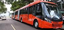 Kurytyba. Pierwszy autobus dwuprzegubowy Scania w Brazylii