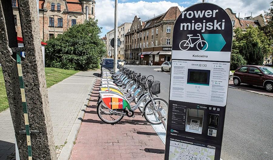 Poznań. Rower miejski częściowo IV generacji