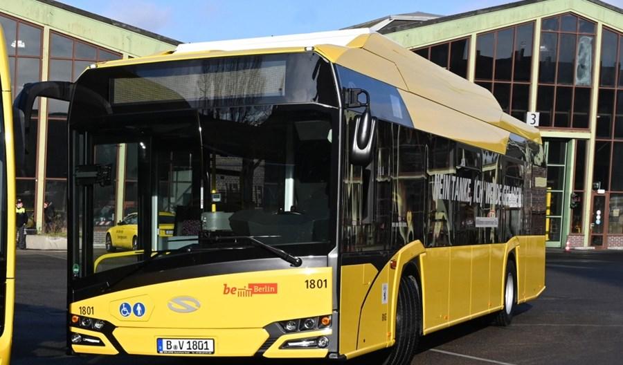 Berlin. 15 elektrobusów od Solarisa już w stolicy Niemiec