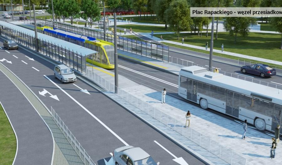 Toruń: Pod koniec kwietnia ruszą prace w rejonie pl. Rapackiego