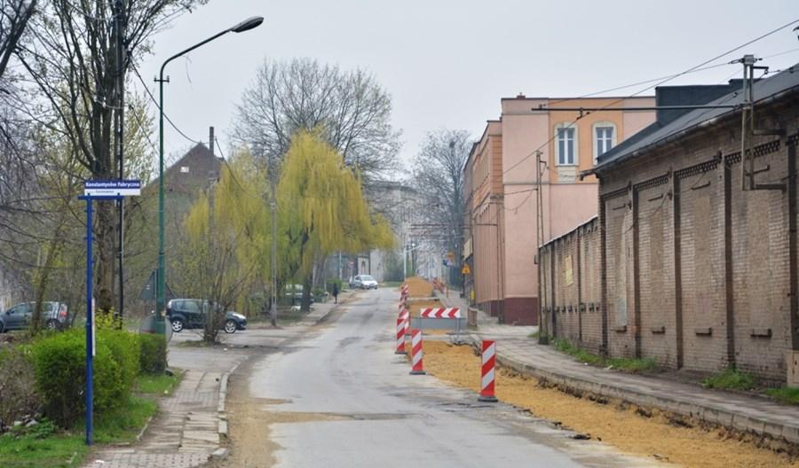 Sosnowiec: Do końca wakacji remont torowiska na Staszica. Trójkąt torowy bez zmian