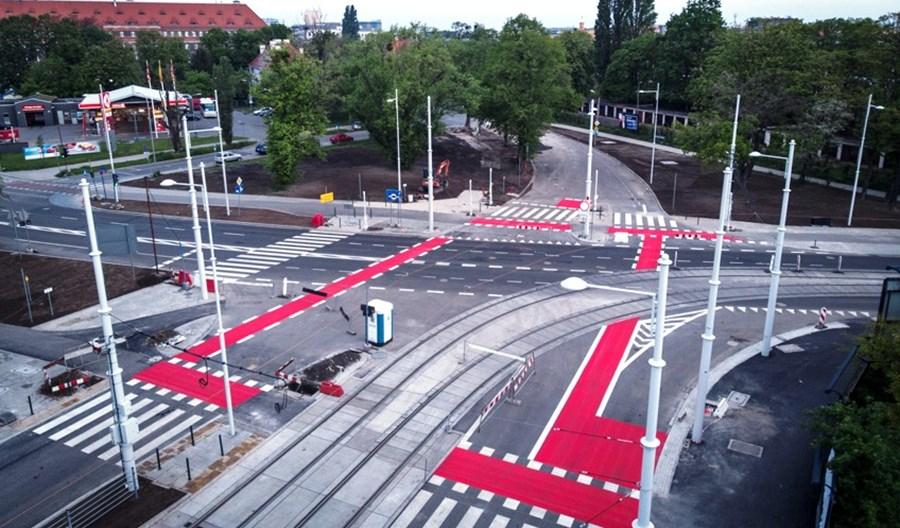 Wrocław: Hubska niemal gotowa. Tramwaje pojadą w czerwcu