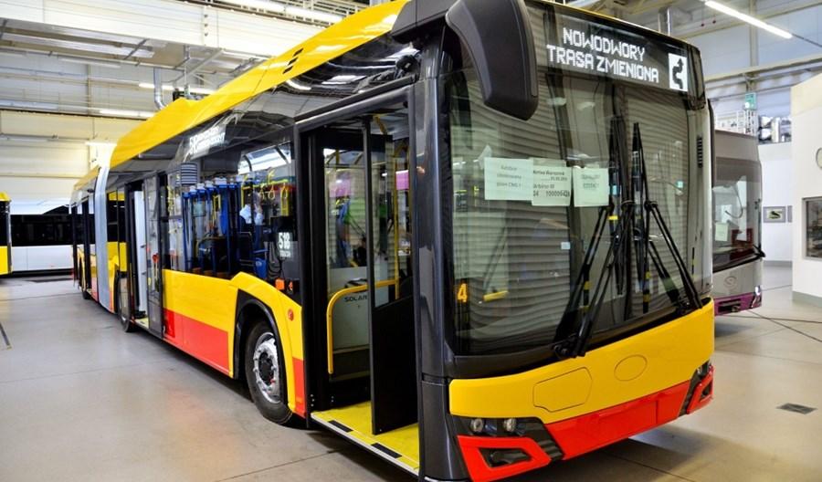 Niebawem gazowe autobusy Arrivy na ulicach Warszawy