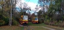 Łódź: Doły zostaną bez tramwaju. Kolejne awaryjne zamknięcie torowiska