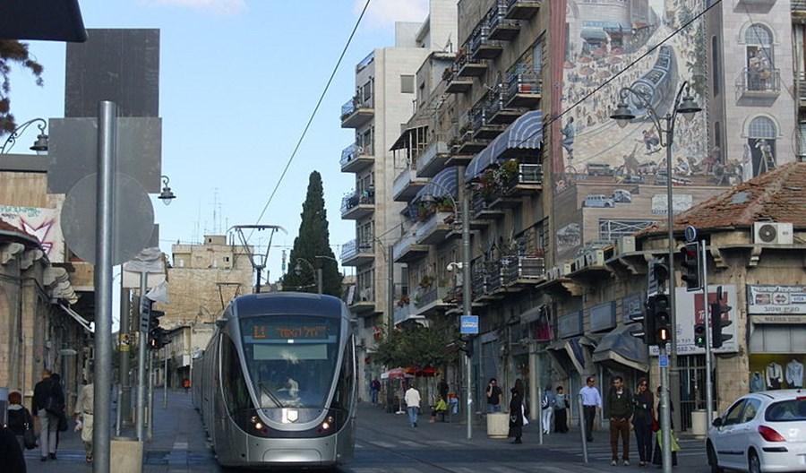 Jerozolima. CAF wygrał potężny przetarg na rozbudowę sieci tramwajowej