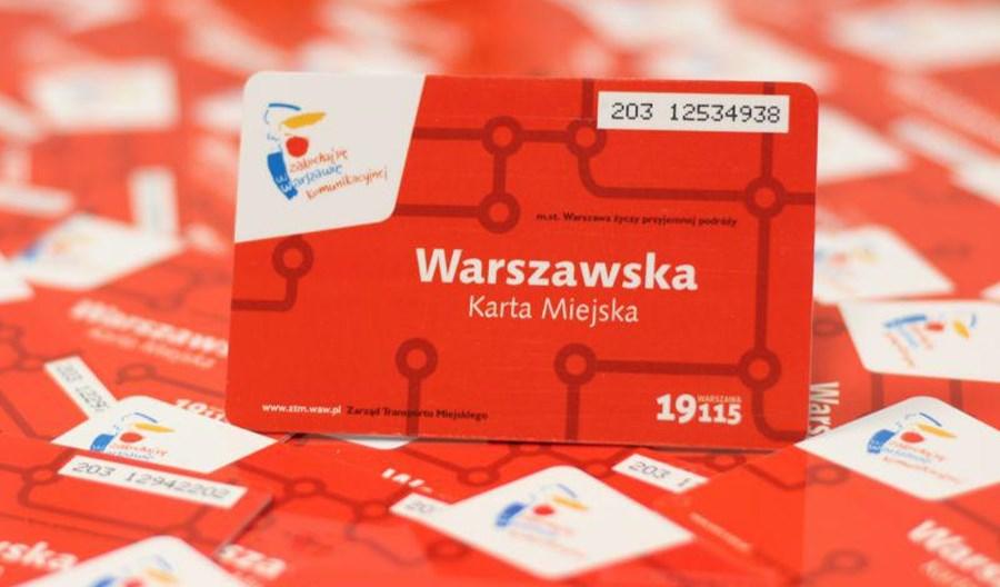 Warszawa. Do karty miejskiej można sobie zrobić selfie