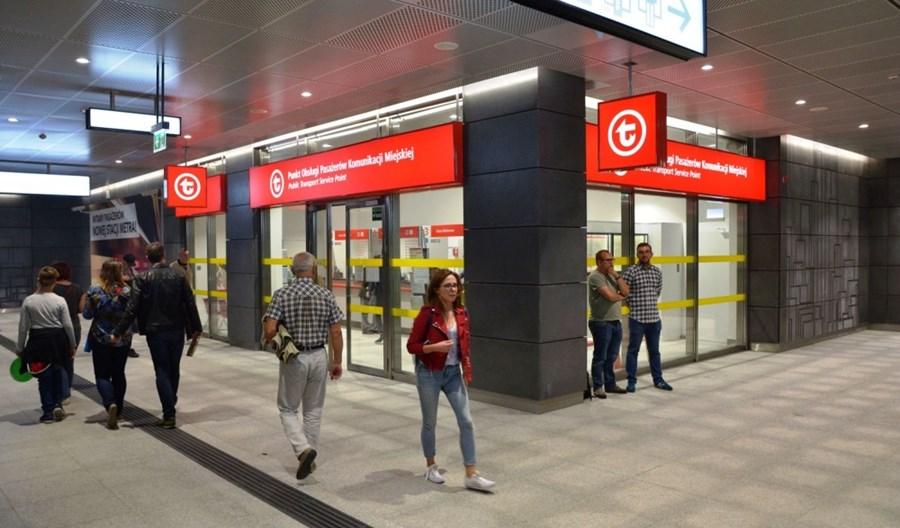 Handel w metrze. 27% lokali na razie pustych