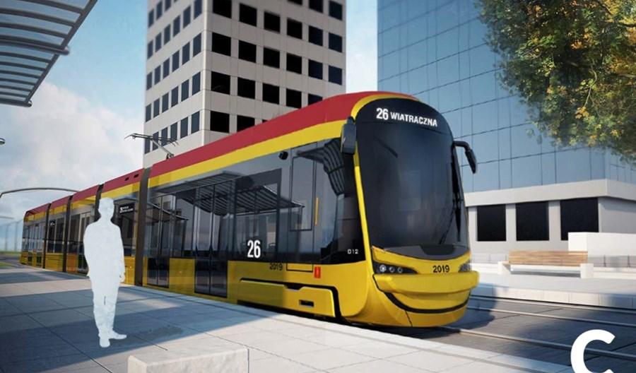 Warszawiacy wybrali uśmiechnięte tramwaje Hyundaia