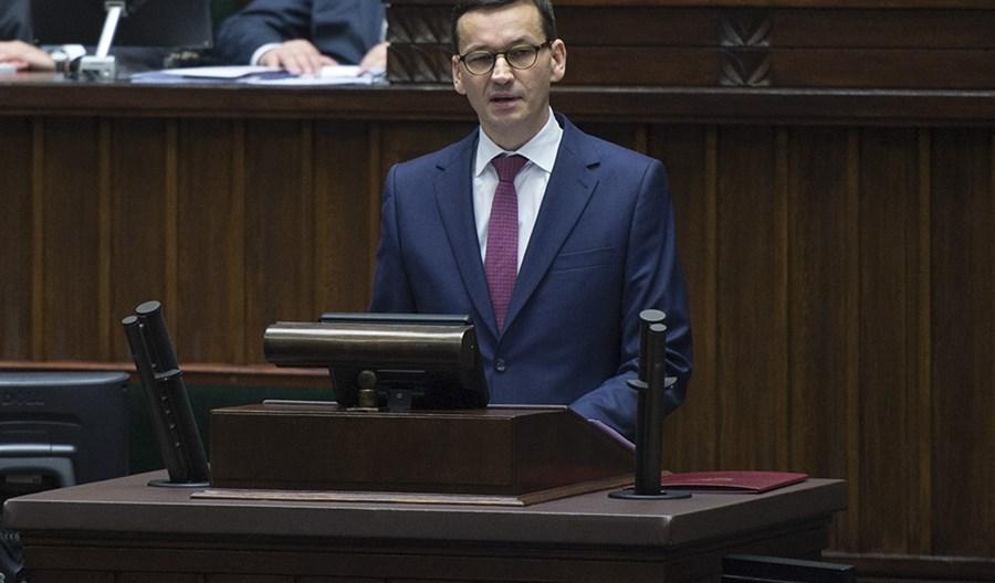 Mateusz Morawiecki: Należy rozważyć 30 km/h w okolicach szkół