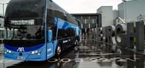 Dwupiętrowe autobusy na trasie Glasgow – Edinburgh Airport