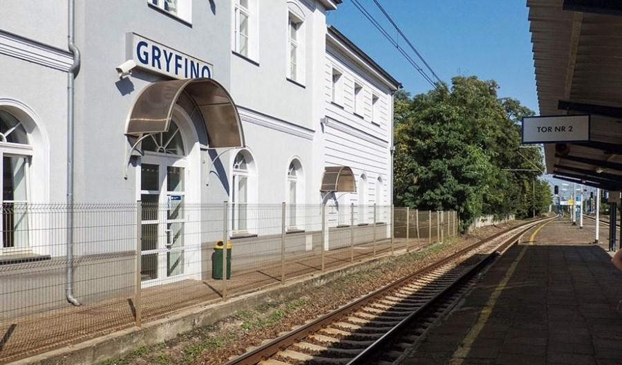 Centrum przesiadkowe szczecińskiej SKM w Gryfinie ze wsparciem unijnym