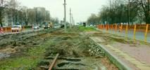 Kolejny odcinek sieci tramwajowej w Częstochowie pod koparkami