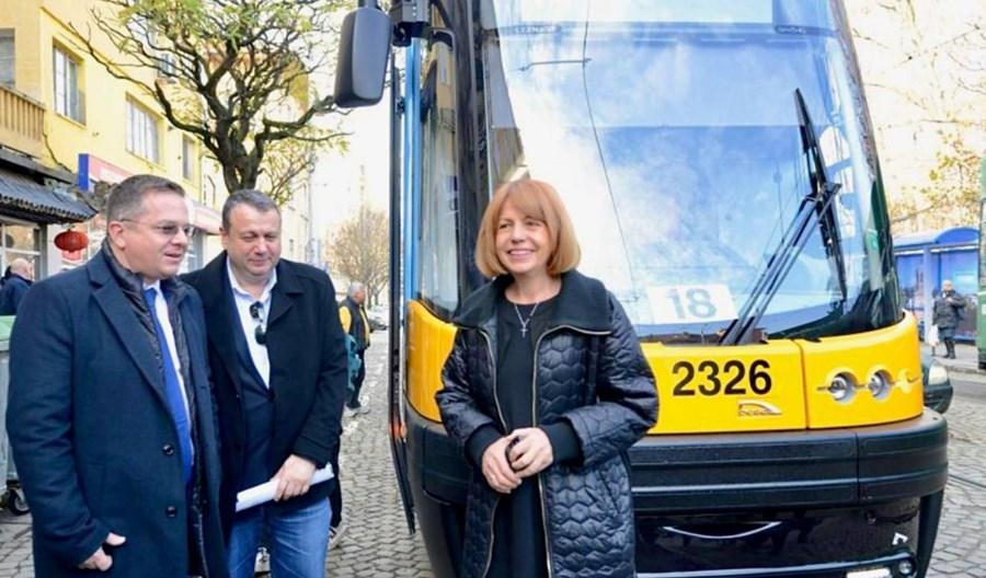 Pierwszy Swing z nowej dostawy wozi już pasażerów w Sofii