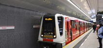 Świąteczny pociąg znów wyjechał na II linię metra. A na I linii ma być niespodzianka