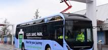 Elektryczne autobusy z Wrocławia na lotnisku w Birmingham
